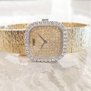 Piaget Ladies Vintage Watch - Full Diamond