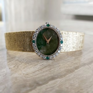 Piaget Ladies Vintage Watch - Jade