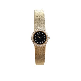 Piaget Ladies Vintage Watch - Black Dial