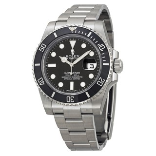 Rolex Oyster Perpetual Submariner Black Vintage Watch