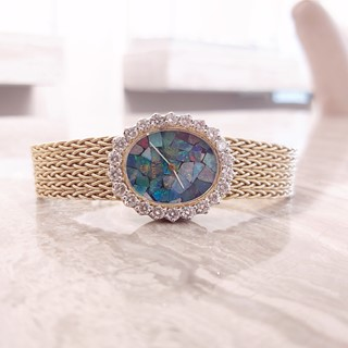 Rolex Ladies Vintage Watch - Opal Mosaic
