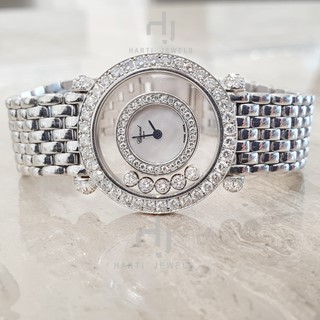 Chopard Ladies Vintage Watch  - Happy Diamonds
