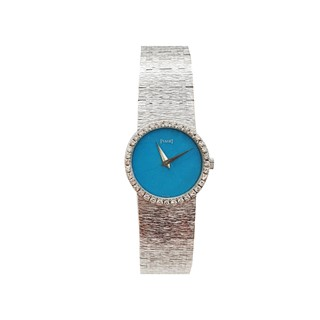 Piaget Ladies Vintage Watch - Sky Blue